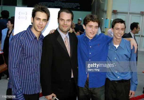 Scott Mechlowicz, Jacob Estes, Trevor Morgan and Ryan Kelley
