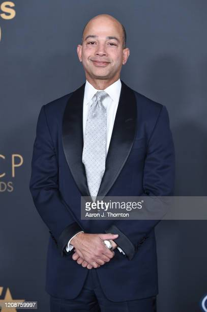 Scott Mills President of BET Networks attends the 51st NAACP Image Awards at the Pasadena Civic Auditorium on February 22 2020 in Pasadena California