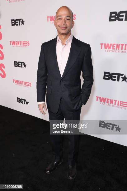 "Scott Mills President of BET Networks attends ""Twenties"" Premiere Event LA at Paramount Pictures on March 02 2020 in Los Angeles California"