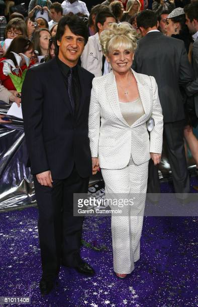 Scott Mitchell and Barbara Windsor arrive for the British Soap Awards 2008 at BBC Television Centre on May 3 2008 in London England