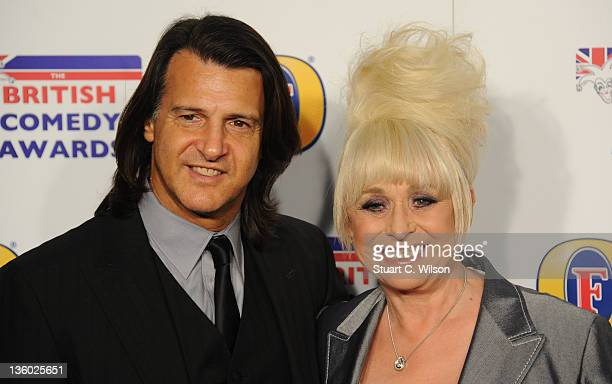 Scott Mitchell and Barbara Windsor attend the British Comedy Awards at Fountain Studios on December 16 2011 in London England