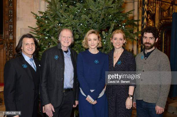 Scott Mitchell David Bradley Carey Mulligan AnneMarie Duff and Paul Ready attend the Alzheimer's Society's Carols At Christmas hosted by Carey...