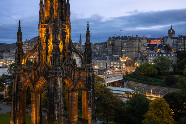 Scott Monument, St Giles Cathedral, Edinburgh, Scotland