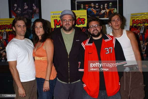 Scott Mosier producer Renee Humphrey Ethan Suplee writerdirector Kevin Smith and Jason Mewes