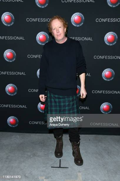 Scott Nathan attends Scott Nathan Exhibition Confessional VIP Opening at Red Studios on February 15 2019 in Los Angeles California