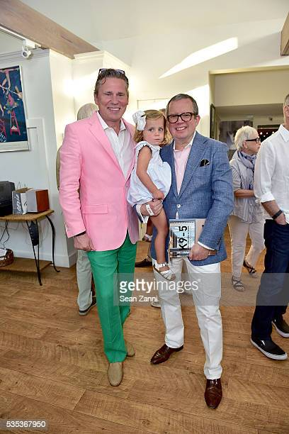 Scott Nelson Otavia Keehn and Alex Papachristidis attend Animal Rescue Fund of the Hamptons 6th Annual Thrift Shop Designer Showhouse at ARF Thrift...