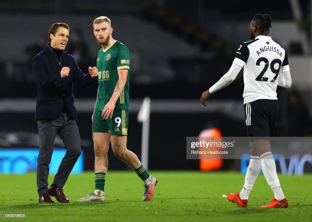 Fulham v Sheffield United - Premier League : ニュース写真