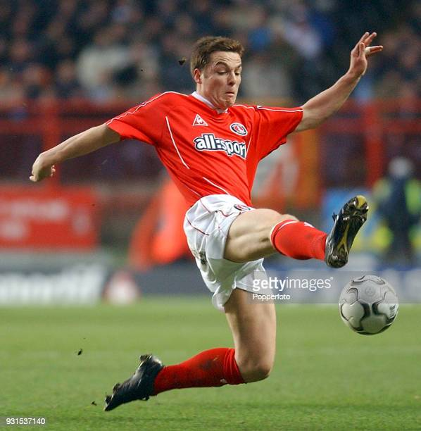 Scott Parker of Charlton Athletic during the FA Barclaycard Premiership match between Charlton Athletic and Manchester City at The Valley in London...