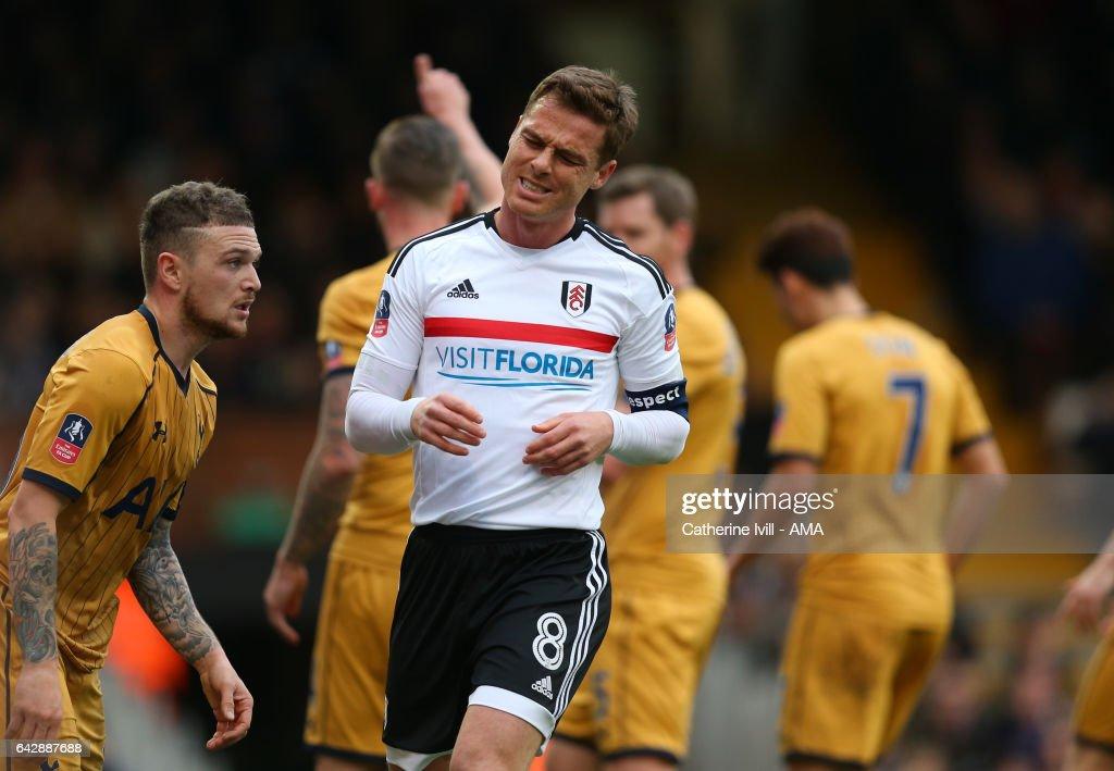 Fulham v Tottenham Hotspur - The Emirates FA Cup Fifth Round : News Photo