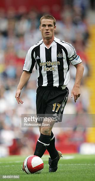 Scott Parker of Newcastle United in action during their FA Premier League match against Aston Villa at Villa Park in Birmingham on August 27th 2006