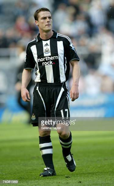 Scott Parker of Newcastle walks off the pitch after the final home game at the Barclays Premiership match between Newcastle United and Blackburn...