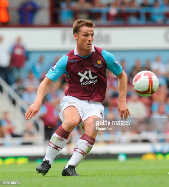 Scott Parker of West Ham United in action during the Barclays Premier League match between West Ham United and Wigan Athletic at Upton Park in London...