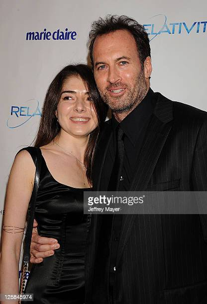 Scott Patterson arrives at The Weinstein Company and Relativity Media's 2011 Golden Globe After Party presented by Marie Claire held at Bar 210 at...