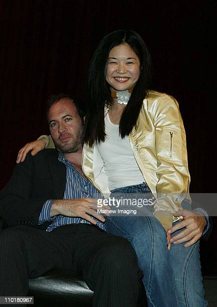 Scott Patterson Keiko Agena during ACADEMY OF TELEVISION ARTS SCIENCES presents Behind the Scenes of 'Gilmore Girls' at Leonard H Goldenson Theatre...