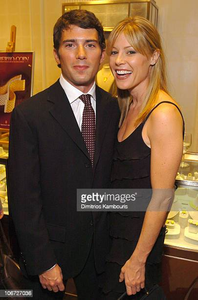 Scott Phillips and Julie Bowen during Elizabeth Glaser Pediatric AIDS Foundation Launch of Ariels Heart of Hope From The Roberto Coin Cento...
