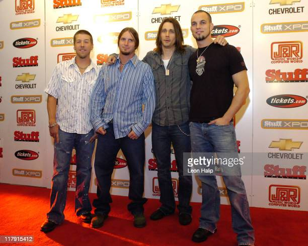 Scott Phillips Brian Marshall Myles Kennedy Mark Tremonti of Alter Bridge