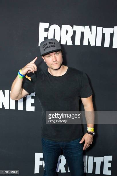 Scott Porter attends the Epic Games Hosts Fortnite Party Royale on June 12 2018 in Los Angeles California