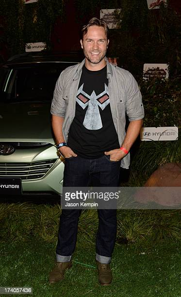 Scott Porter attends The Walking Dead 10th Anniversary Celebration Event during ComicCon 2013 on July 19 2013 in San Diego California