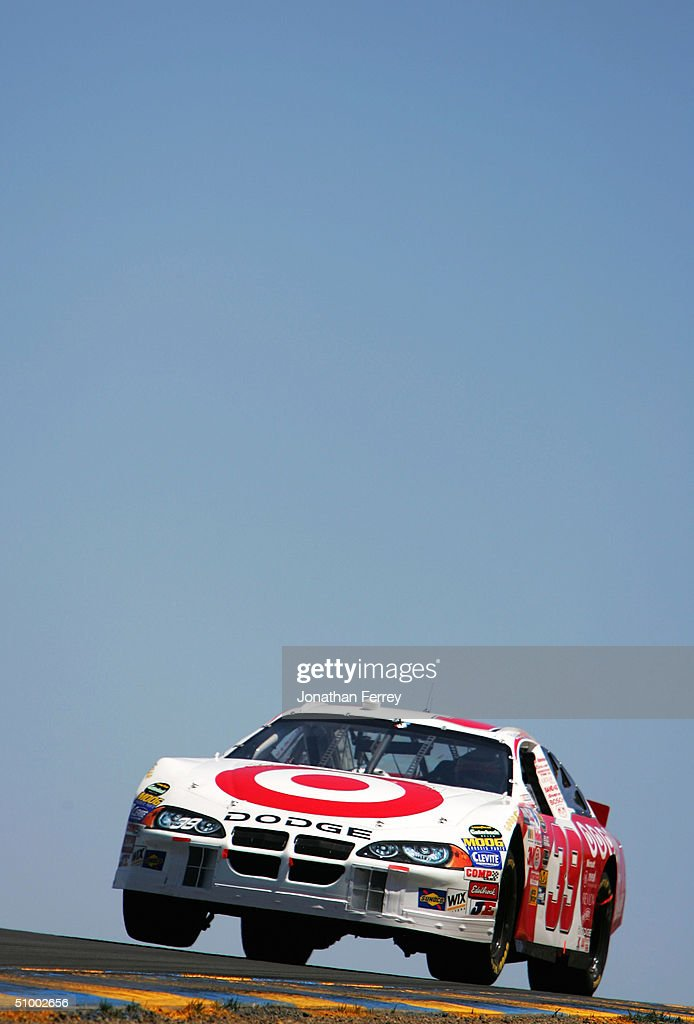 Scott Pruett Drives His #39 Targte Ganassi Racing Dodge During The NASCAR  Nextel Cup Dodge