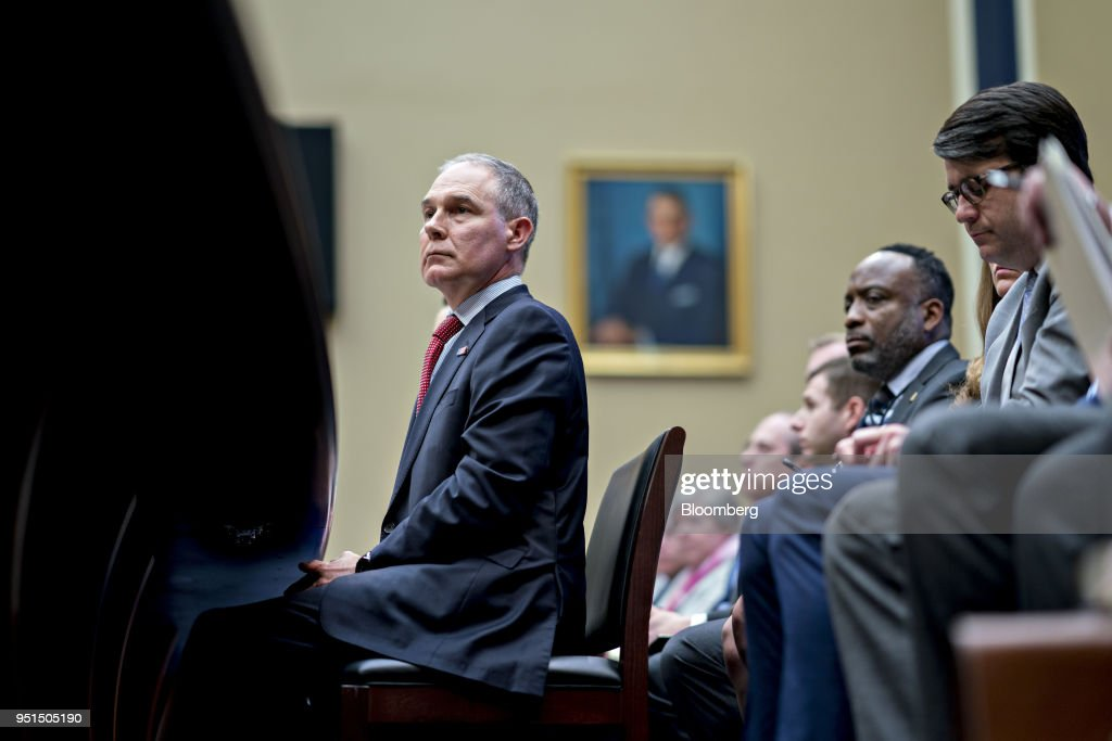 EPA Administrator Scott Pruitt Testifies To House Environment Subcommittee On FY'19 Budget