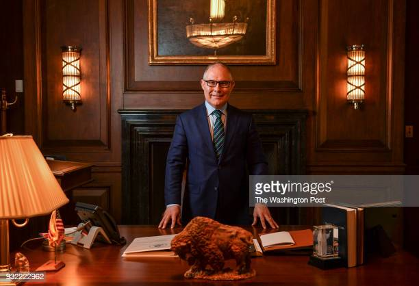 Scott Pruitt Administrator of the Environmental Protection Agency is photographed at the EPA on November 15 2017 in Washington DC