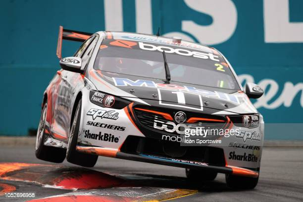 Scott Pye / Warren Luff in the Mobil 1 Boost Mobile Racing Holden Commodore during the race at The 2018 Vodafone Supercar Gold Coast 600 in...