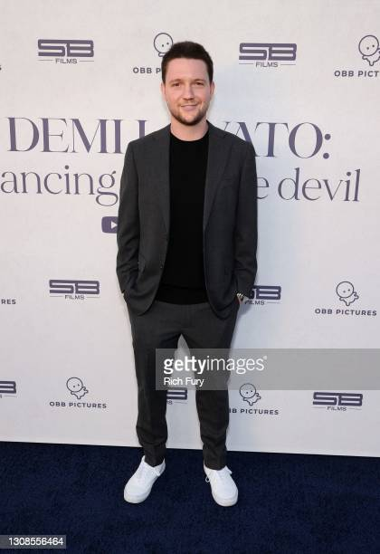 """Scott Ratner attends the OBB Premiere Event for YouTube Originals Docuseries """"Demi Lovato: Dancing With The Devil"""" at The Beverly Hilton on March 22,..."""