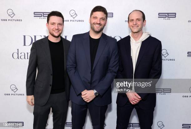 Scott Ratner, Michael D. Ratner, Director/Executive Producer OBB Pictures and Kfir Goldberg attend the OBB Premiere Event for YouTube Originals...