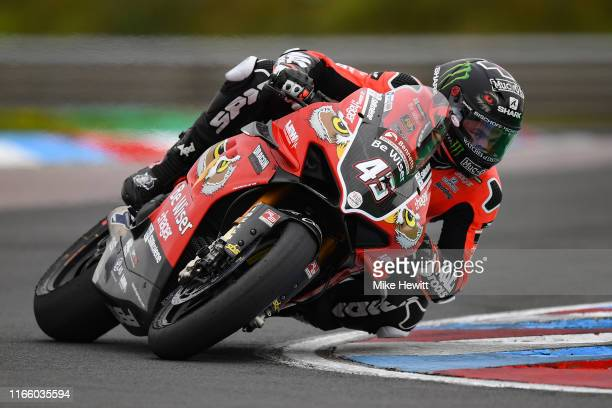 Scott Redding of Great Britain in action during the British Superbikes Championships at Thruxton Circuit on August 04 2019 in Andover England