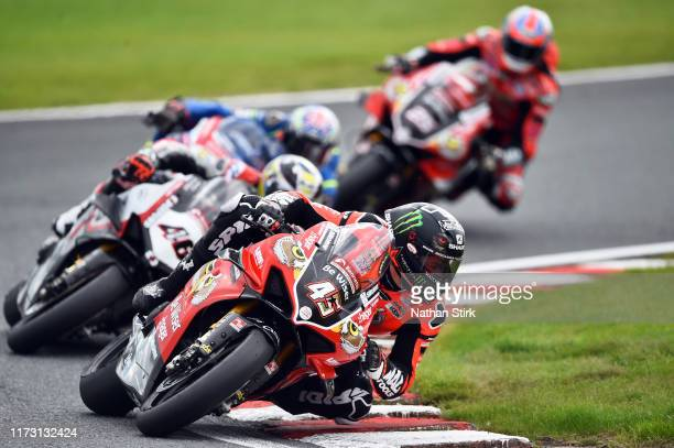 Scott Redding of Great Britain in action during the British Superbike Championship at Oulton Park on September 08, 2019 in Chester, England. 019 in...