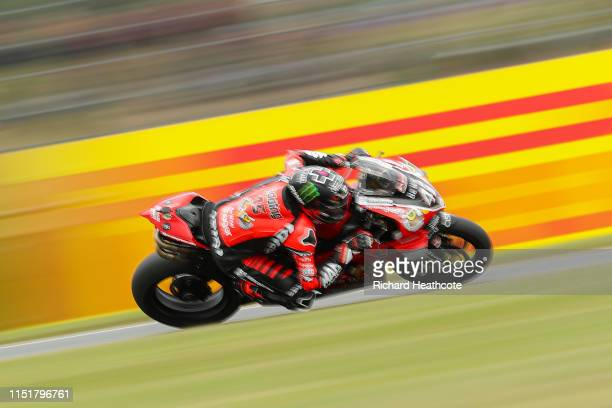 Scott Redding rides to victory in the Bennetts British Superbike Championship at Donington Park on May 26 2019 in Castle Donington England
