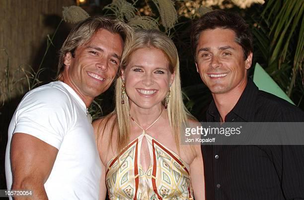 Scott Reeves wife Melissa Reeves and Billy Warlock