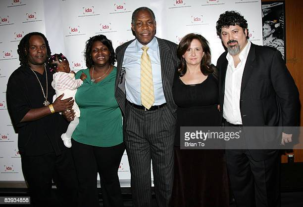 Scott Roberts Sky Roberts Kimberly Rivers Roberts actor Danny Glover filmmakers Tia Lesson and Carl Deal ABC News Videosource Award finalists for...