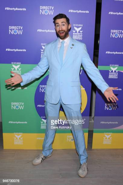 Scott Rogowsky attends the 10th Annual Shorty Awards After Party at Moxy Hotel on April 15 2018 in New York City