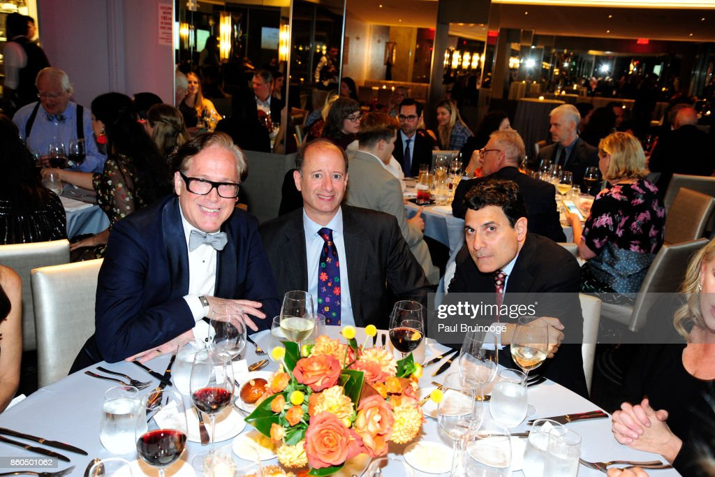 Scott Salvatore, David Reitner and Oscar Shamamian attend the Decoration and Design Building celebrates the 2017 winners of the DDB's 10th Anniversary of Stars of Design Awards at D&D Building on October 11, 2017 in New York City.