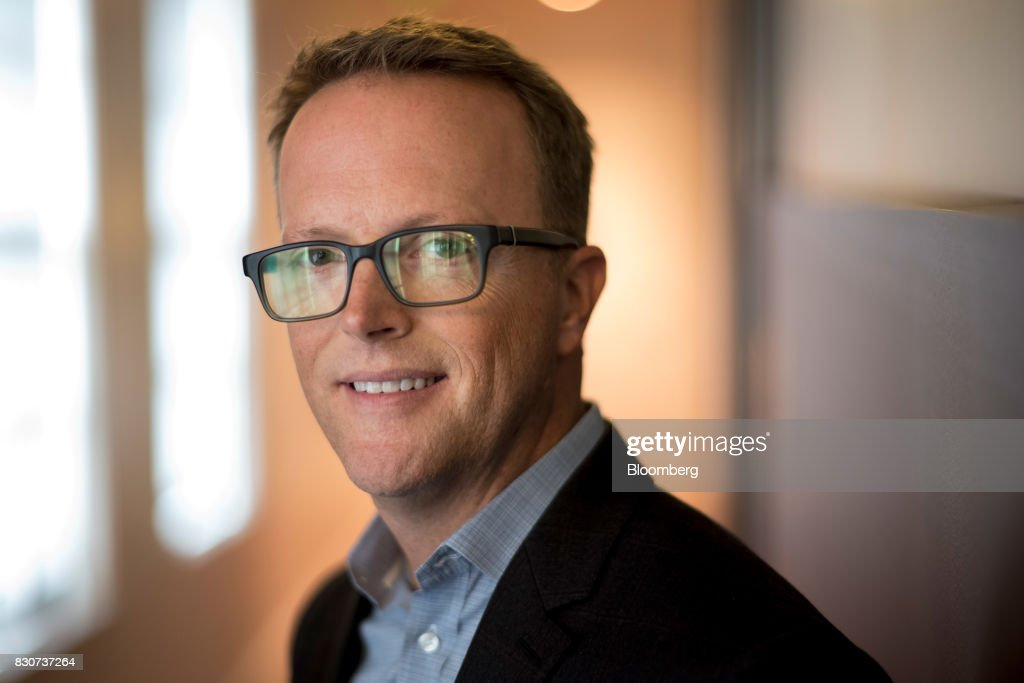 Scott Sanborn, chief executive officer of Lending Club Corp., stands for a photograph after a Bloomberg Technology interview in San Francisco, California, U.S., on Tuesday, Aug. 8, 2017. Sanborn discussed the company's path to recovery and bringing investors back to the platform. Photographer: David Paul Morris/Bloomberg via Getty Images