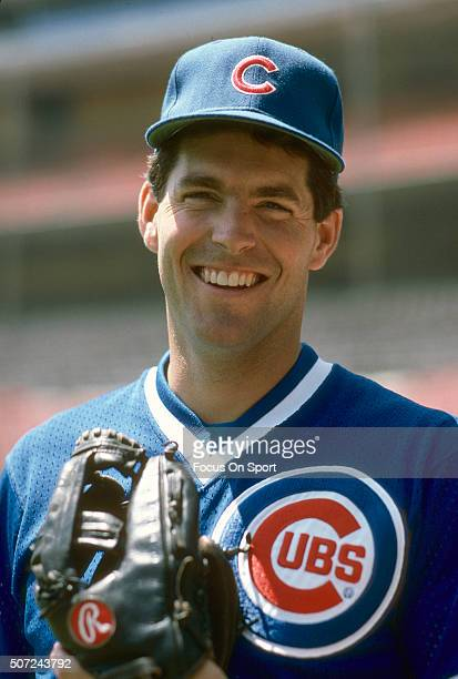 Scott Sanderson of the Chicago Cubs smiles for the camera prior to a Major League Baseball game against the New York Mets circa 1984 at Shea Stadium...