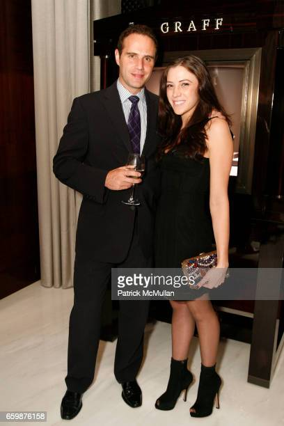 Scott Schachter and Aimee Preston attend GRAFF hosts Holiday Celebration in honor of Melania Trump and Petra Levin American Heart Association Palm...