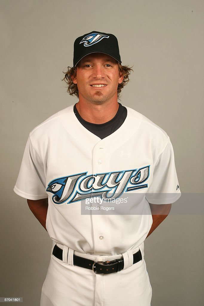 Scott Schoeneweis of the Toronto Blue Jays during photo day at ...