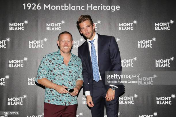 Scott Schuman and Ben Dahlhaus attend '1926 Montblanc Heritage Launch event' on June 14 2017 in Florence Italy
