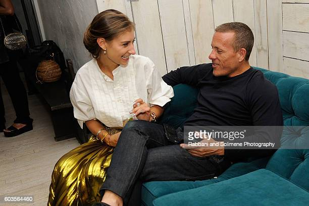 Scott Schuman and Jenny Walton attends an evening hosted by Monica Vinader to celebrate Fashion Artist Jenny Walton's illustrations of the iconic...