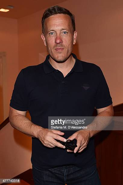 Scott Schuman attends Ghurka cocktail party during 88 Pitti Immagine Uomo at Harry's Bar on June 18 2015 in Florence Italy