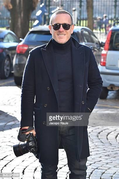 Scott Schuman attends the Ermenegildo Zegna show during Milan Men's Fashion Week Fall/Winter 2016/17 on January 16 2016 in Milan Italy