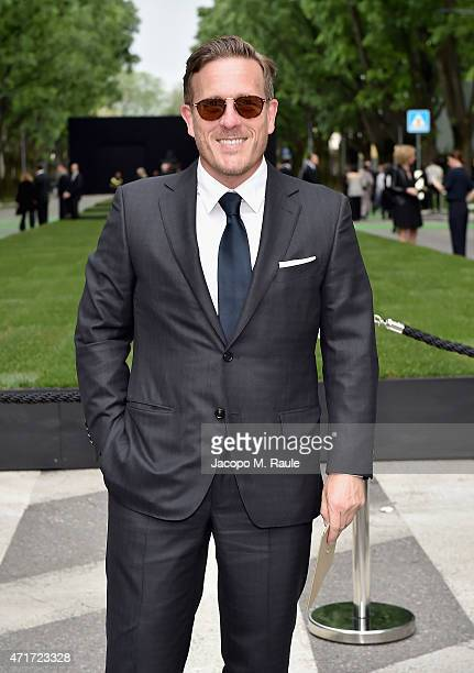 Scott Schuman attends the Giorgio Armani 40th Anniversary Silos Opening And Cocktail Reception on April 30 2015 in Milan Italy