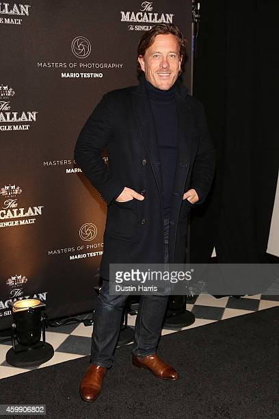 Scott Schuman attends The Macallan Masters of Photography Mario Testino Edition Launch Event at Gramercy Terrace at The Gramercy Park Hotel on...