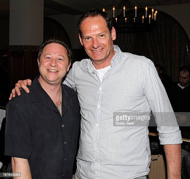 Scott Schwartz and Mark Lester attends the 2013 Chiller Theatre Expo at Sheraton Parsippany Hotel on April 26 2013 in Parsippany New Jersey