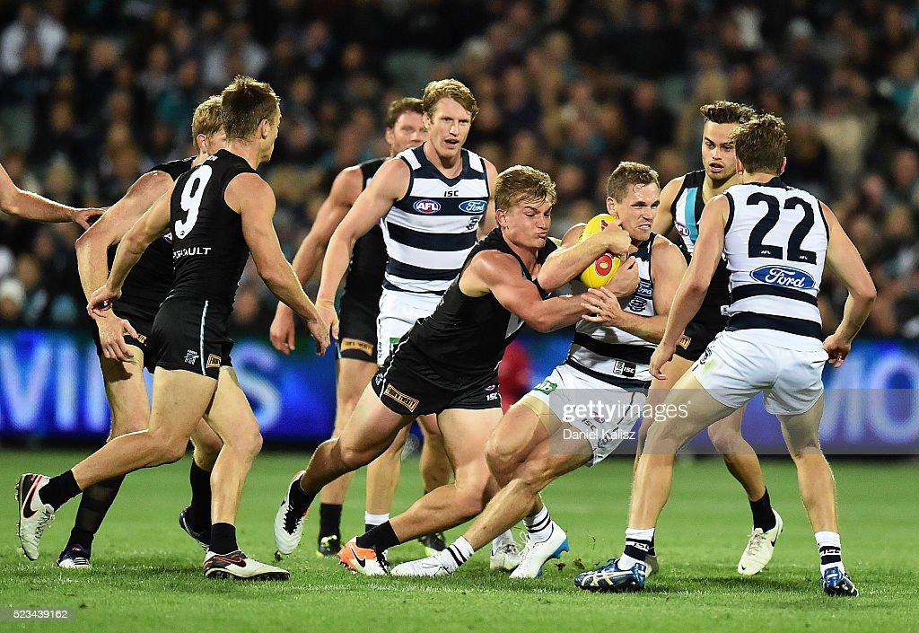 AFL Rd 5 - Port Adelaide v Geelong