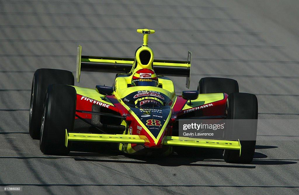 Scott Sharp driving the Kelley Racing Delphi Toyota Dallara during