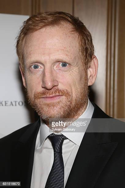 """Scott Shepherd attends The Cinema Society Hosts a Screening of HBO's """"The Young Pope"""" on January 11, 2017 in New York City."""