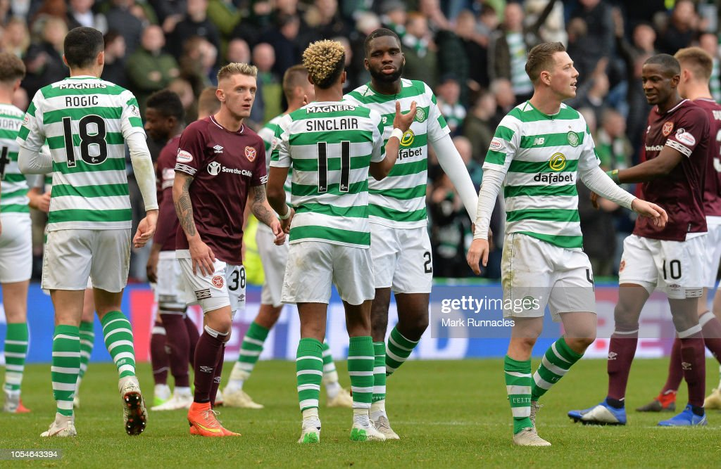 Heart of Midlothian FC  v Celtic FC - Betfred Scottish League Cup Semi Final : News Photo